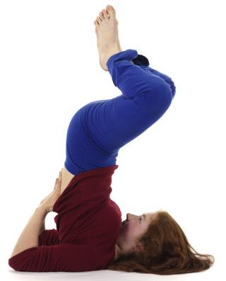 Fortgeschrittene Schulterstand-Variation