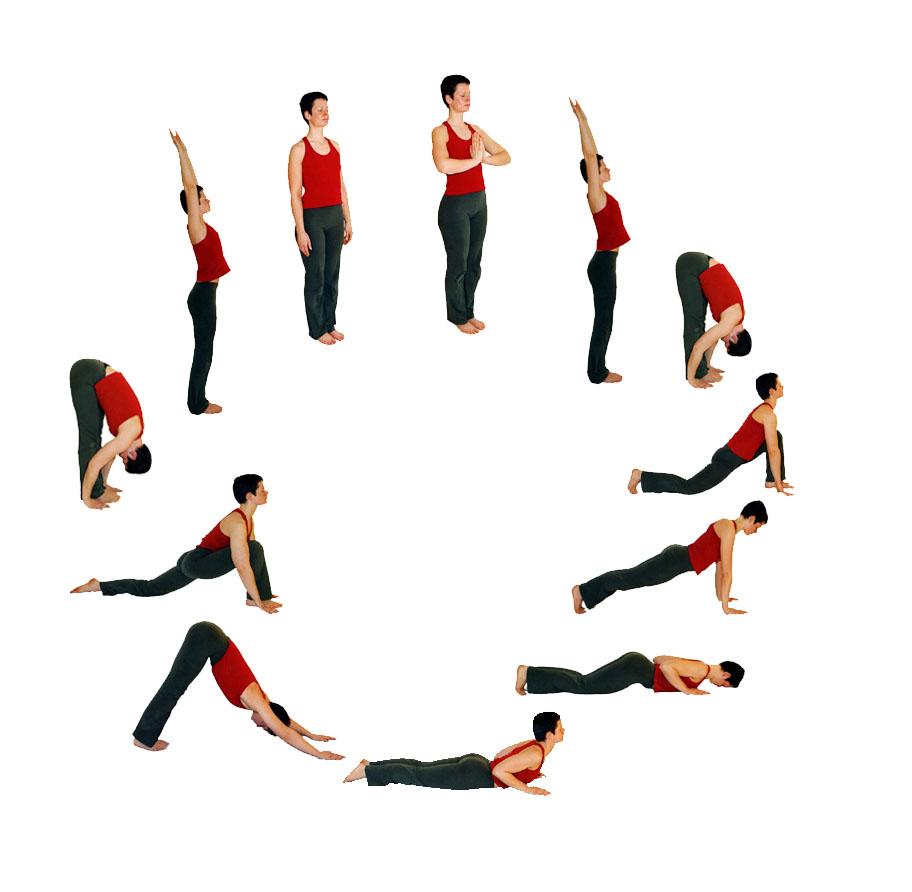 Yoga Vidya - Sonnengruß für Fortgeschrittene: Flexibilität
