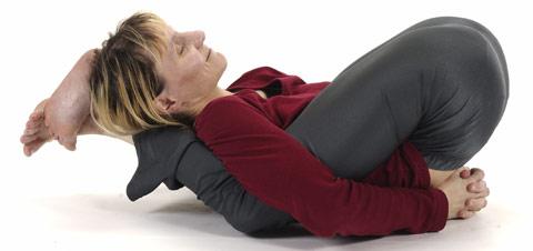 Schlafstellung - Yoga Nidrasana