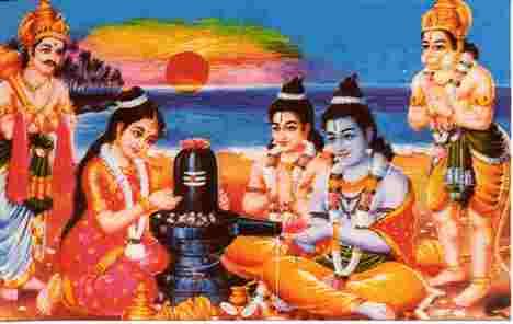 Puja aus Dankbarkeit