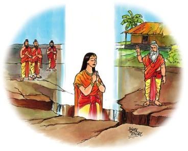 Sita verlässt diese Welt