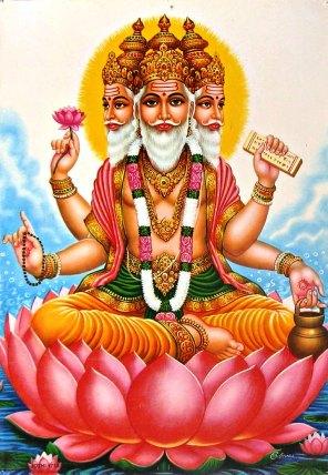 Brahma, der Schöpfer-Gott