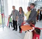 Großartige Eröffnungsfeier Projekt Shanti