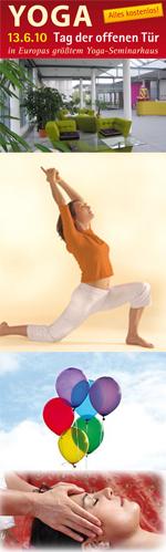 13.6. Ein ganz besonderer Yoga-Tag der offenen Tür: Eröffnung Projekt Shanti