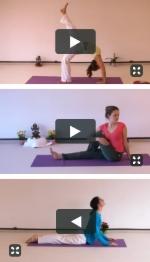 Neues Yoga Video Yogastunden-Portal