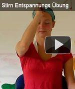 Übung des Monats: Stirn Entspannungs Übung