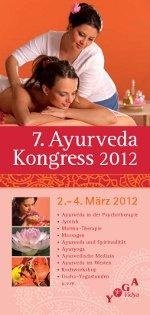 Ayurveda Kongress 2.-4. März 2012