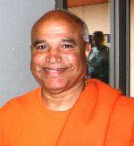 Beschreibung: Indischer Yogameister Swamiji in Bad Meinberg