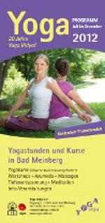 Neue Broschüre der Yogastunden und Kurse in Bad Meinberg ist online