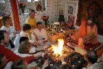 108 Stunden Feuerritual zur Zeitenwende im Dezember in Bad Meinberg