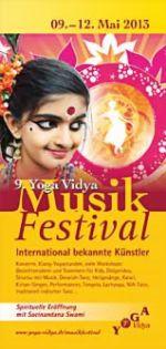 Yoga Musikfestival 9.-12. Mai 2013 in diesem Jahr zum 9. Mal im Yoga Vidya Seminarhaus Bad Meinberg