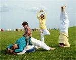 Yoga und Ferien für Eltern und Kinder - Yoga Familienwochen