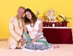 Am 14.10.2013 heiraten Satyadevi und Sukadev