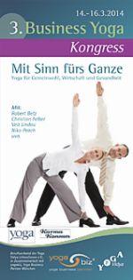 Business Yoga Kongress 14.-16.03.2014 in Bad Meinberg
