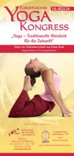 Europäischer Yoga Kongress 14.-16.11.2014