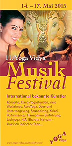 Yoga Vidya Musikfestival 14.-17.5.