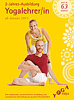 2-jährige Yogalehrer Ausbildung ab Januar 2015 in 64 Städten