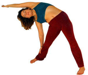 Trikonasana, Yoga Asana Dreieck
