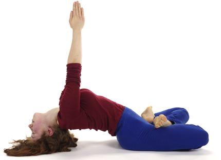 yoga vidya  fisch  matsyasana