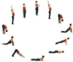 Yoga Vidya Hormonyogareihe Kurzversion