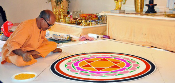 Yoga holiday week with Swami Yatidharmananda
