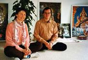 Eva-Maria mit Sukadev