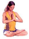 Frau in Meditation
