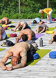 Outdoor Yoga - Yoga im Freien