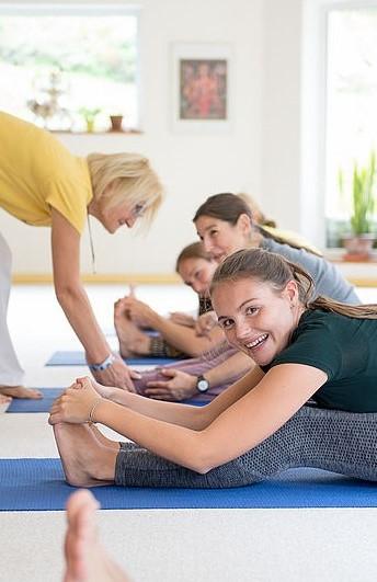 Yogalehrer Ausbildung Intensivkurs Woche 1