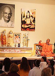 Ferienwoche mit Swami Yatidharmananda