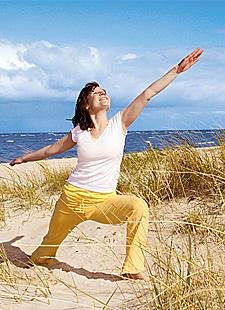 Yoga, Klangerfahrung und Naturerlebnis an der Nordsee