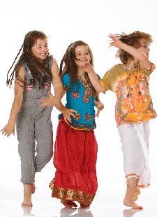 Musik, Tanz und Spaß - Kinderyoga 7-12 Jahre