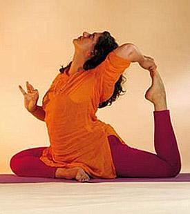 Schlank und gesund mit Yoga