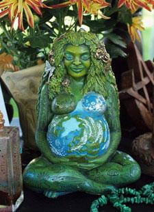 Öffne dich für Mutter Erde