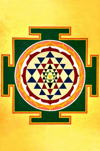 Das Sri Yantra - Mystik, Symbolik und Arbeiten mit diesem mächtigsten Symbol des Tantra online