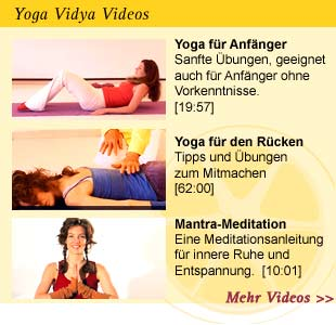 Yoga Vidya Yoga Videos