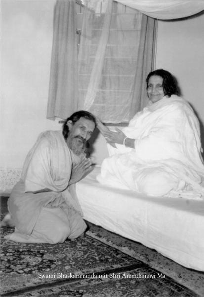 Swami Bhaskarananda und Shri Anandamayi Ma