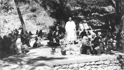 Die Lepra-Kolonie in der Ashramnähe