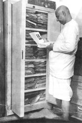 Manuskripte seiner Bücher