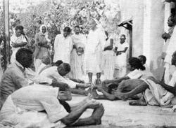 Yogastunde für Gäste
