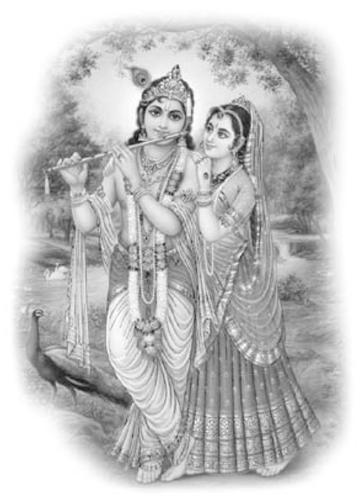 Lord Krishna & Shri Radharani