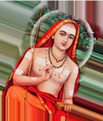 Adi Shankara einer der wichtigsten Vertreter des Vedanta und des Jnana Yoga.