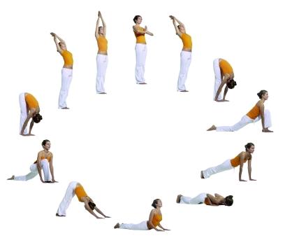 Prächtig Yoga Sonnengruß &HC_82
